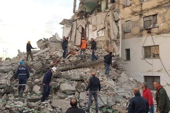 Aksioni – Tërmeti në Shqipëri